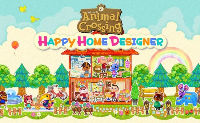 Animal Crossing Happy Home Designer Nintendo 3ds