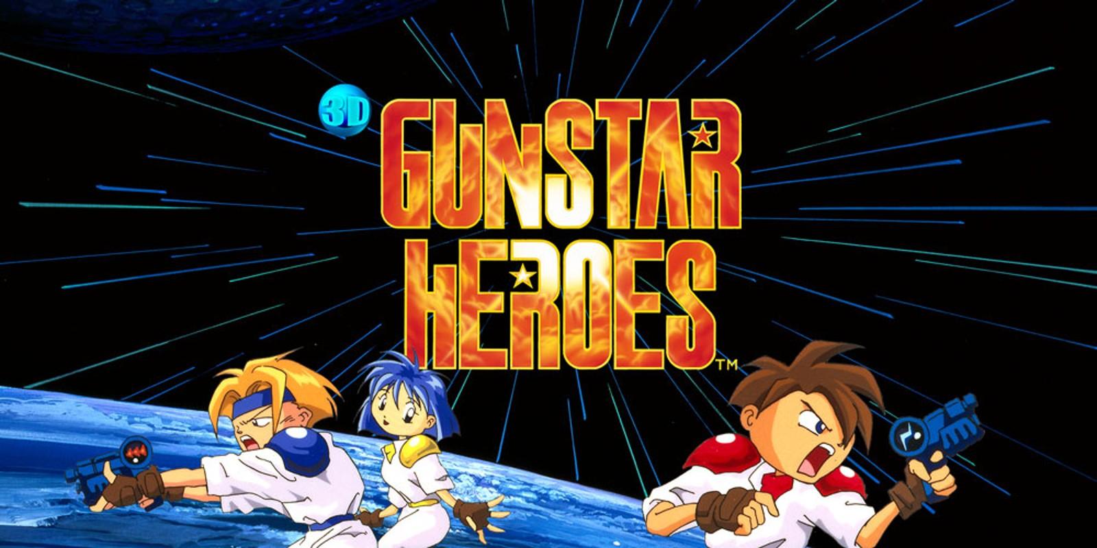 3D Gunstar Heroes Nintendo 3DS Download Software Games