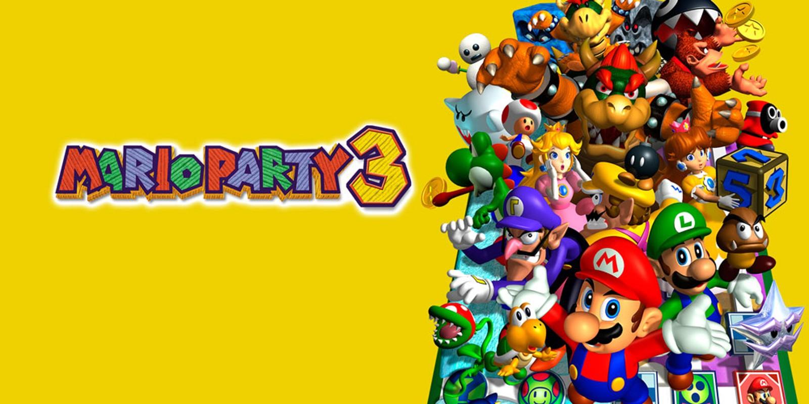 Mario Party 3 Nintendo 64 Games Nintendo
