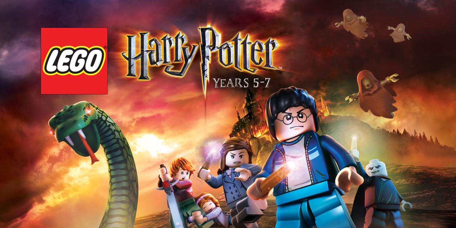 LEGO Harry Potter Years 5 7 Nintendo DS Games Nintendo