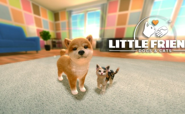 Little Friends Dogs Cats Nintendo Switch Games