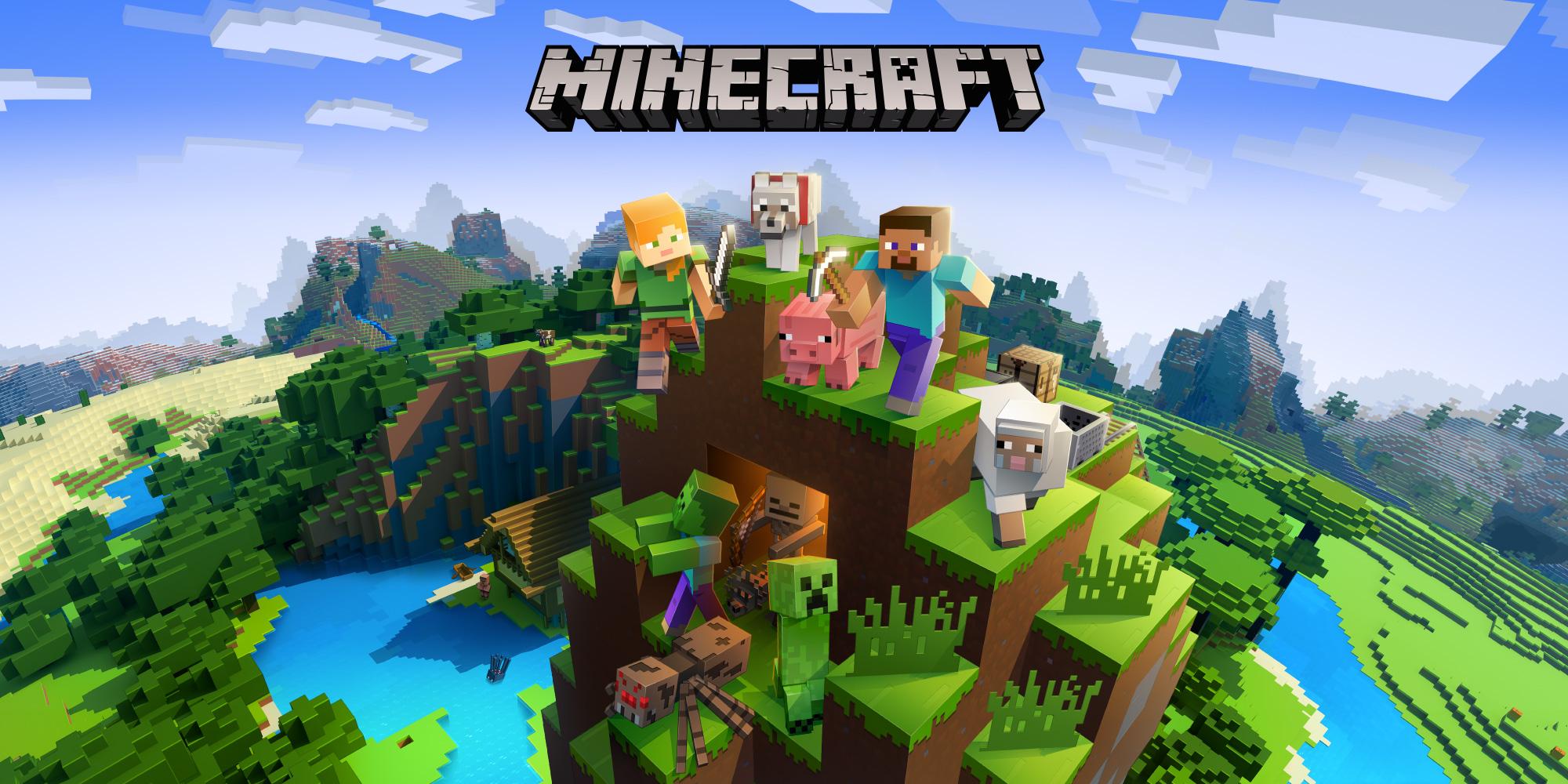 minecraft nintendo switch jeux