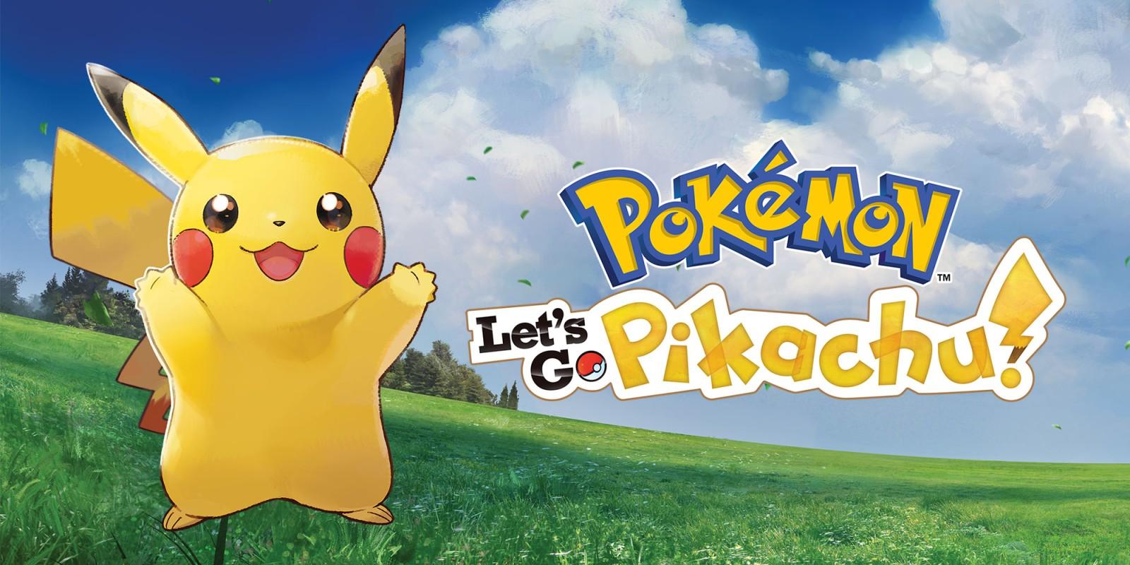 Pokémon: Let's Go. Pikachu! | Nintendo Switch | Jogos | Nintendo