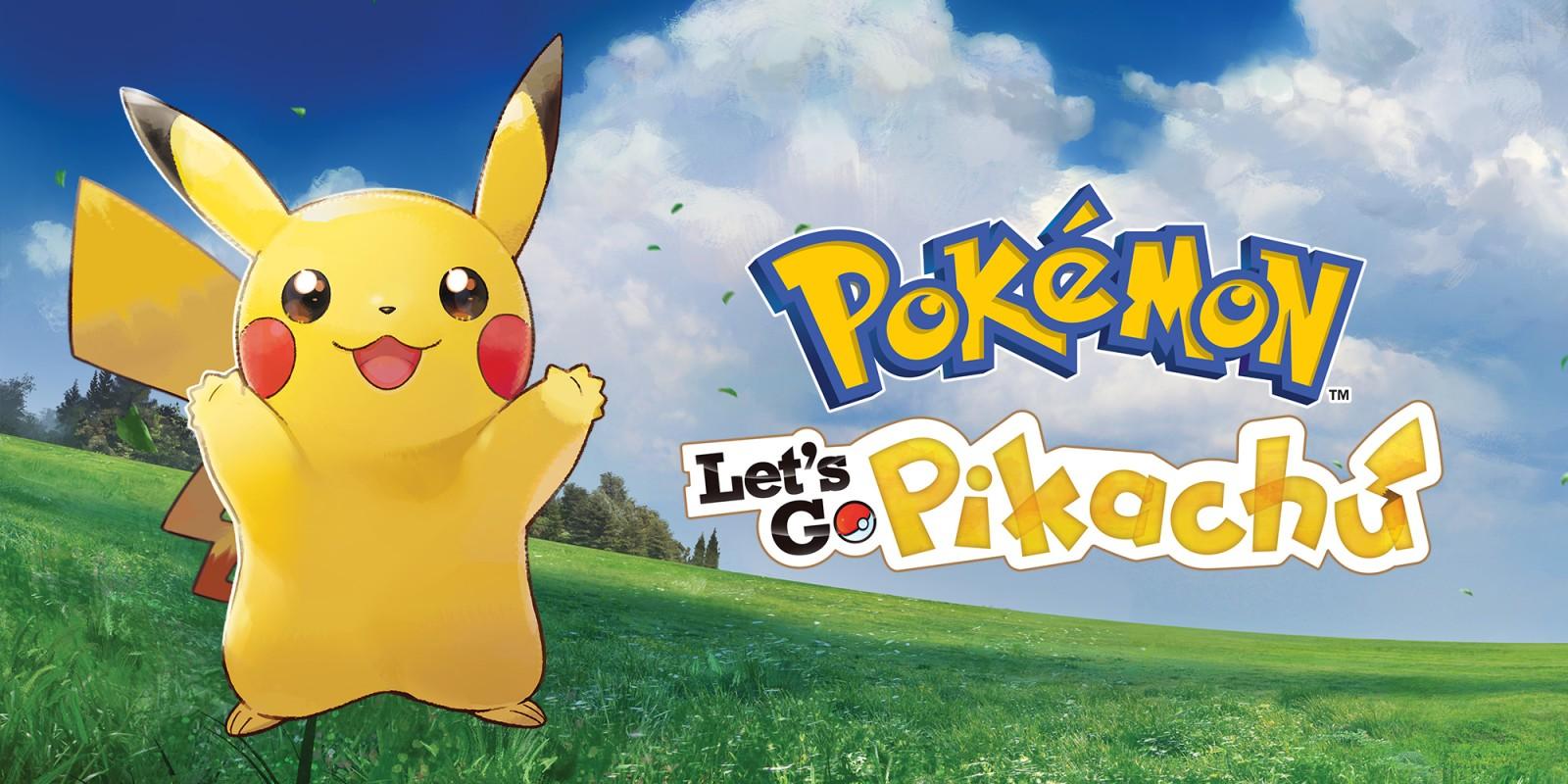 Pokmon Lets Go Pikachu Nintendo Switch Jeux