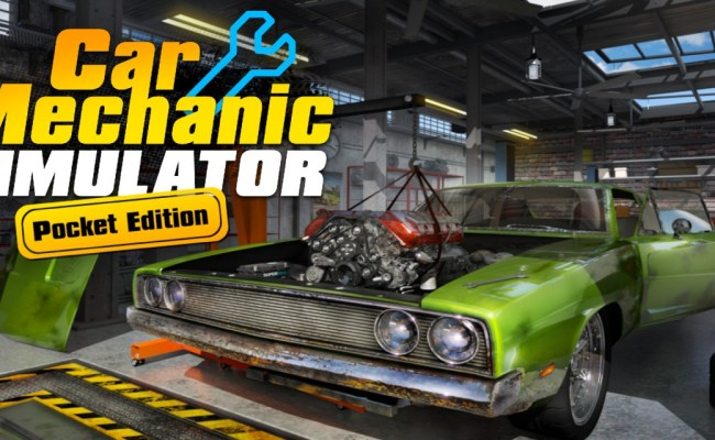 Car Mechanic Simulator Pocket Edition Nintendo Switch