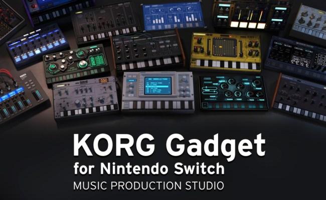 Korg Gadget For Nintendo Switch Nintendo Switch Download