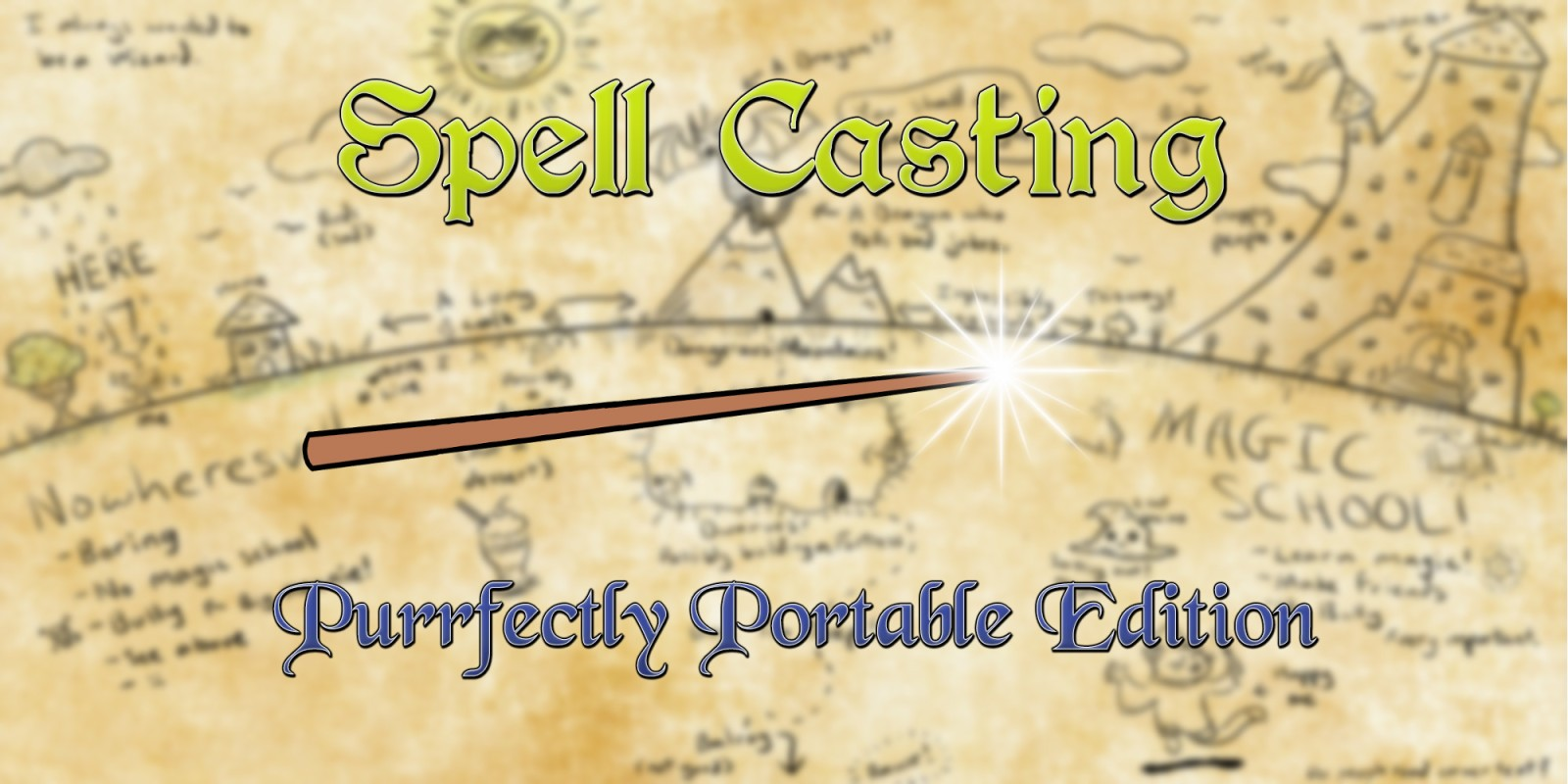 spell casting purrfectly portable