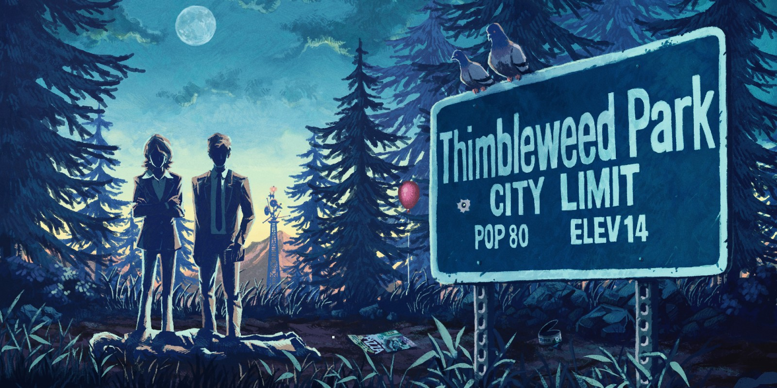 Thimbleweed Park  Nintendo Switch download software