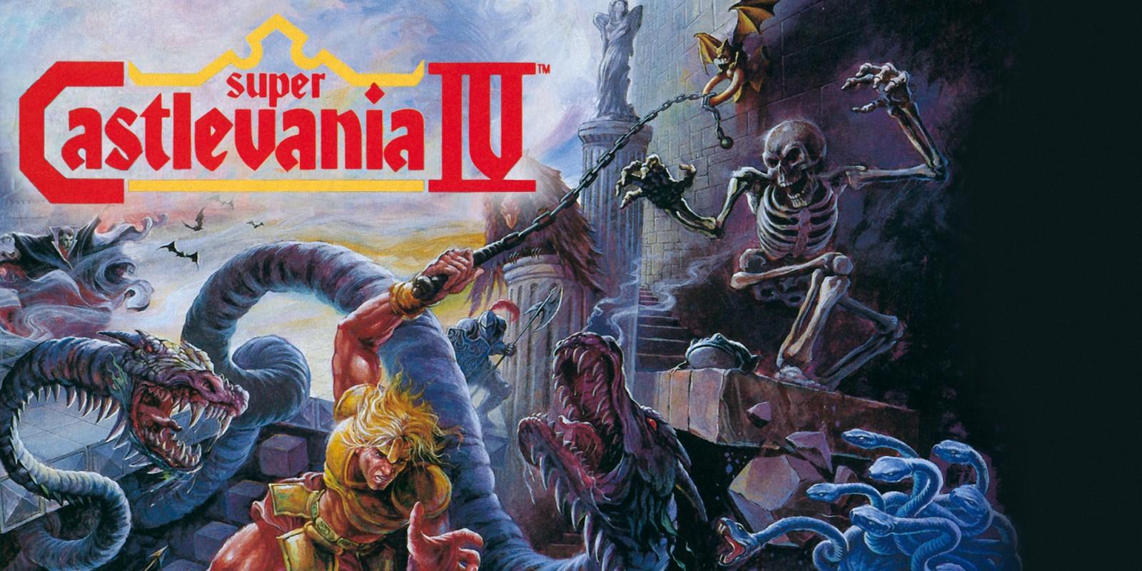 Super Castlevania IV Super Nintendo Games Nintendo