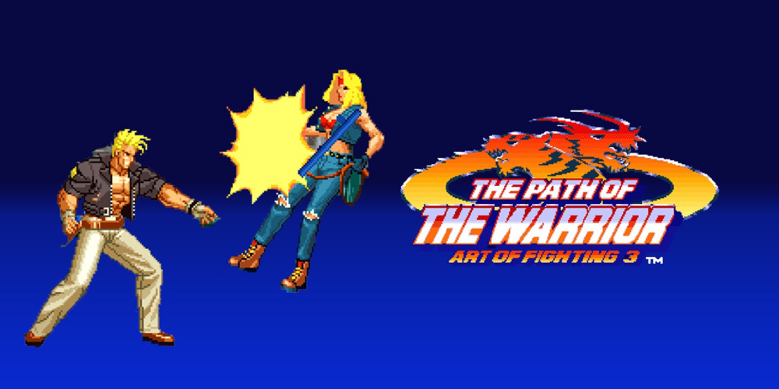 THE PATH OF THE WARRIOR ART OF FIGHTING 3 NEOGEO Games