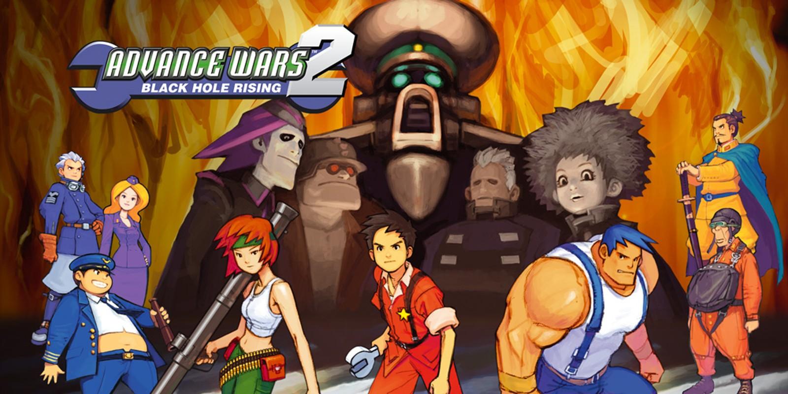 Advance Wars 2 Black Hole Rising Game Boy Advance
