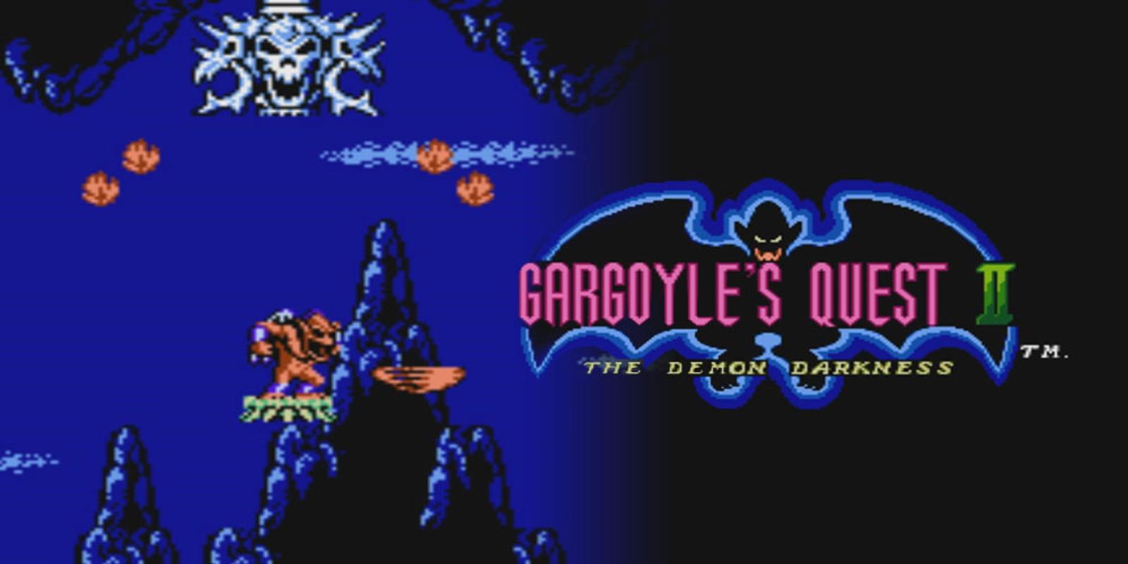Gargoyle S Quest Ii The Demon Darkness Nes Games Nintendo