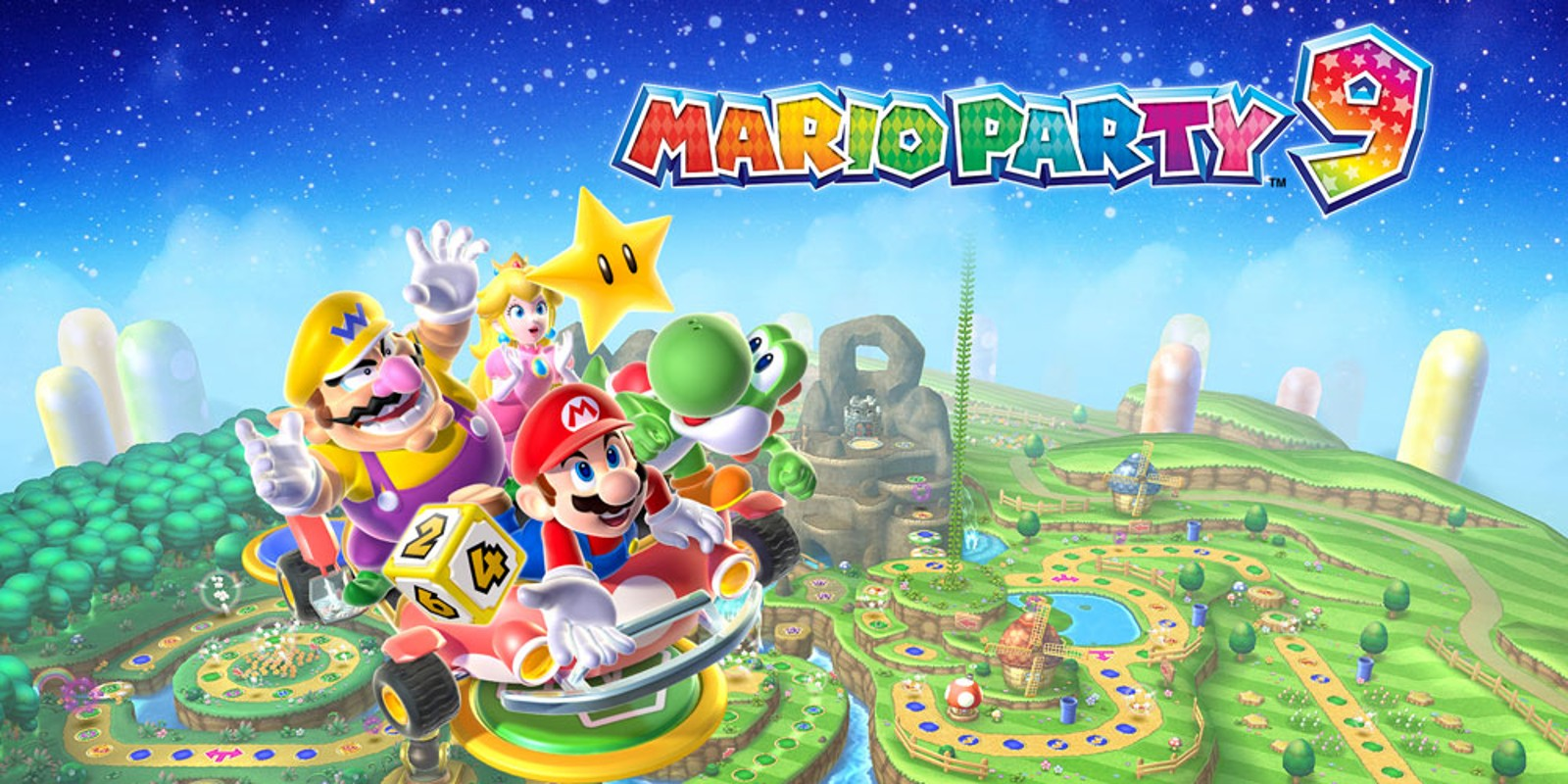 3d Touch Wallpaper Maker Mario Party 9 Wii Jogos Nintendo