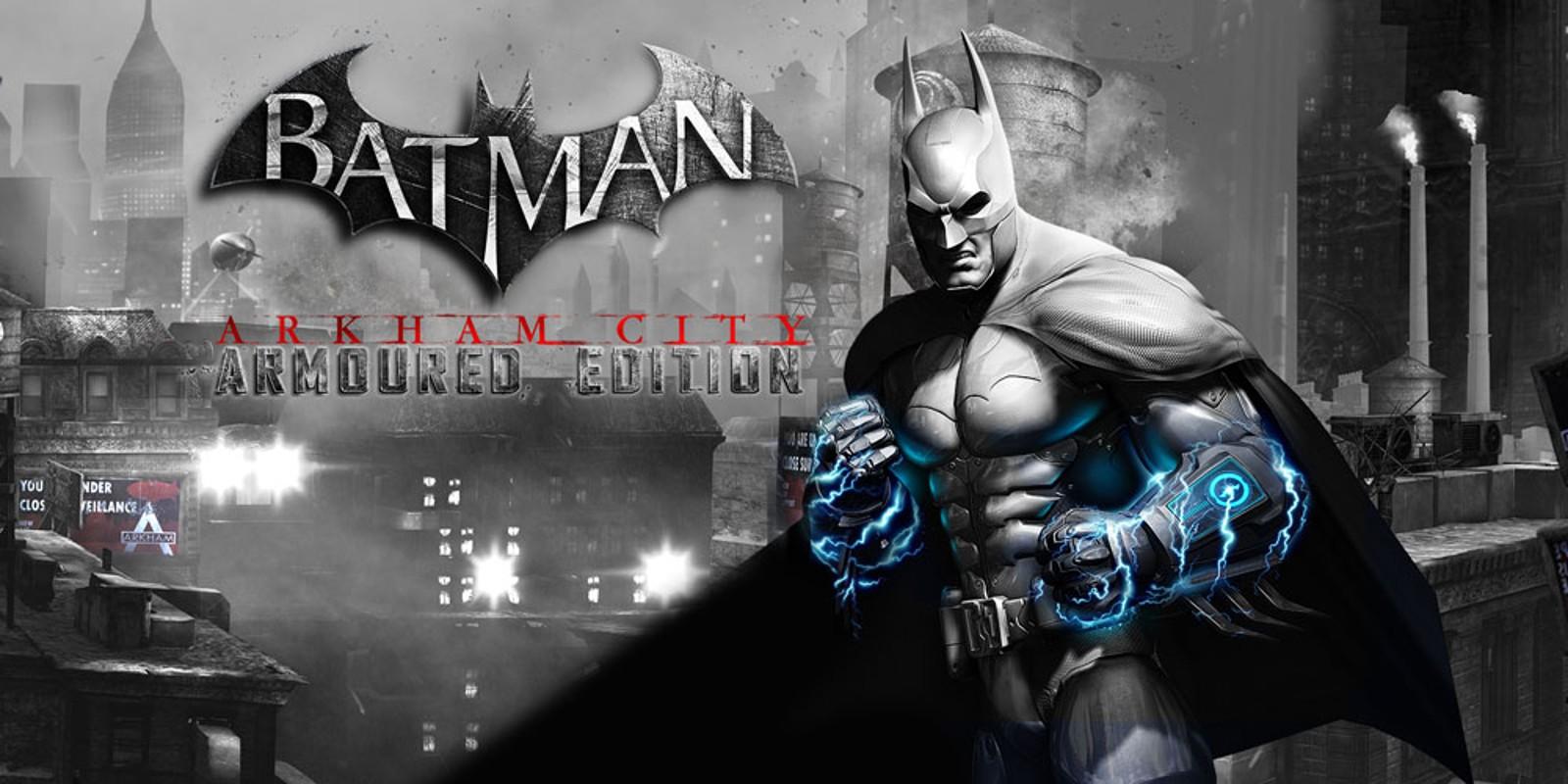 Batman Arkham City Armoured Edition Wii U Games