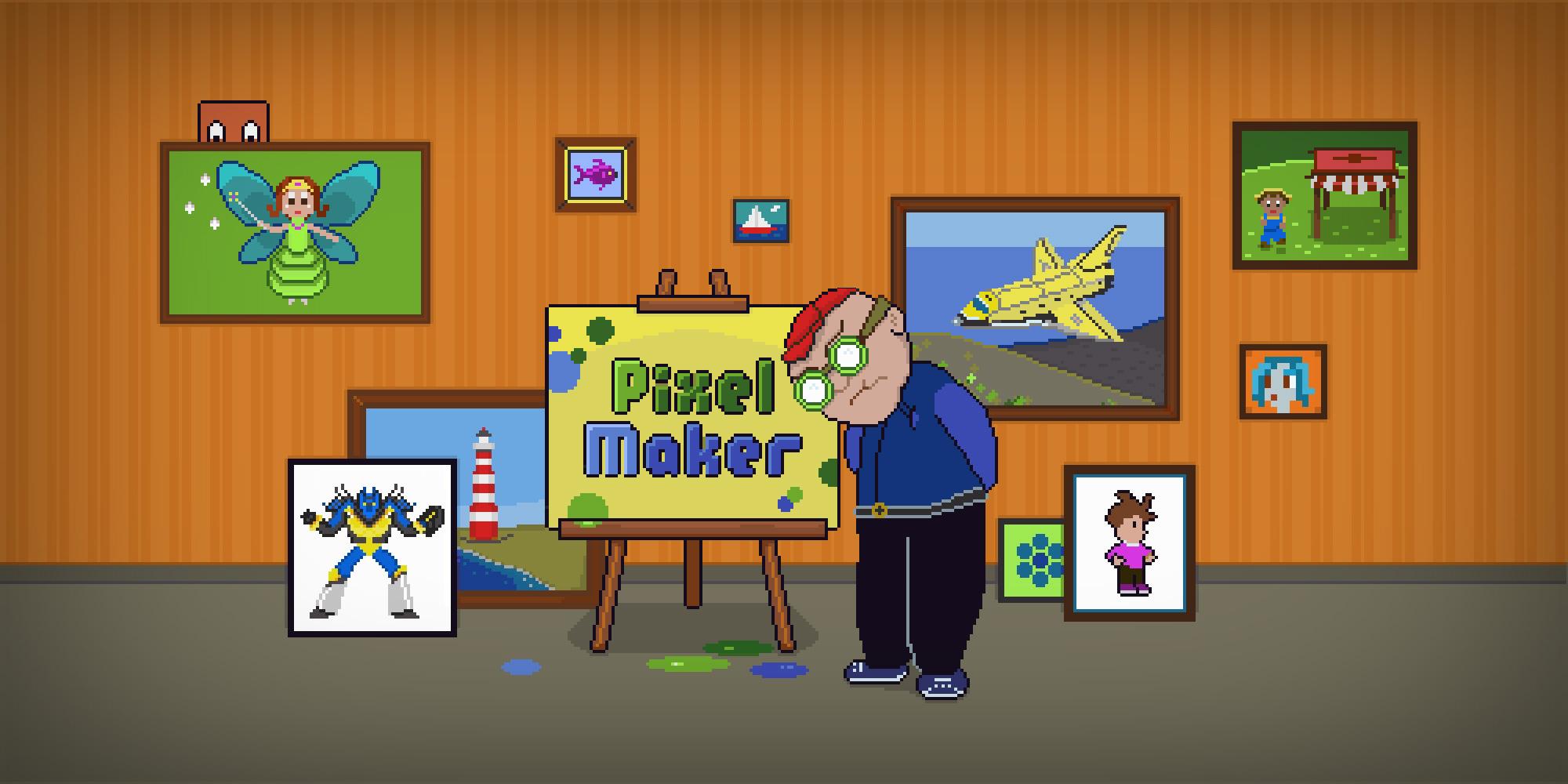 PixelMaker Wii U Download Software Games Nintendo