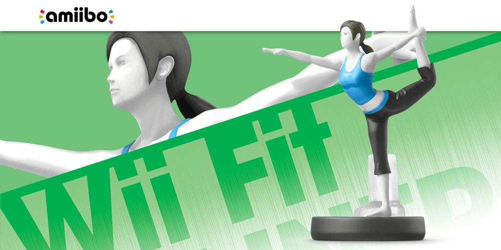 Wii Fit Trainer Super Smash Bros Collection Nintendo