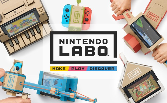 Nintendo Labo Combines Fun Interactive Make Play And