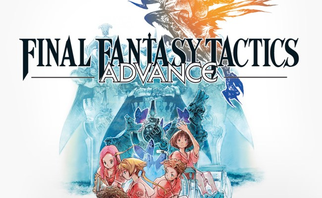 Final Fantasy Tactics Advance Game Boy Advance Games