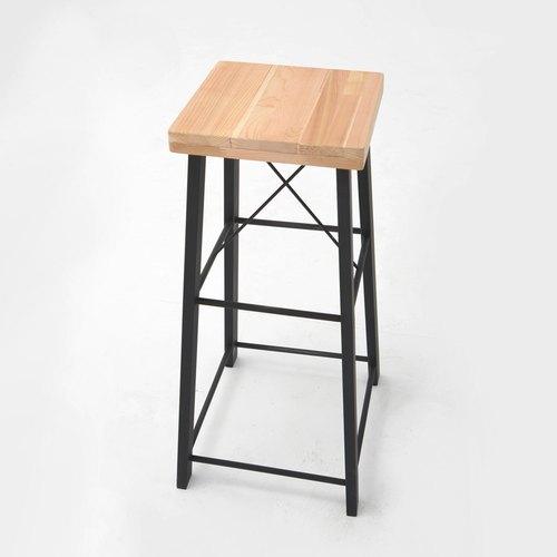 工業風香杉拼接款_高腳椅 - 銳龍工藝設計 | Pinkoi