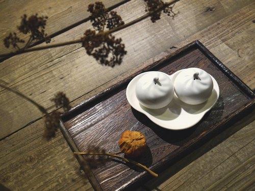 【臺客藍】包如意 如意盤+小籠包調味罐二入組 - 臺客藍 Hakka-blue | Pinkoi