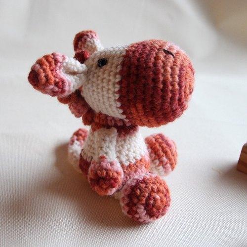 【布。棉花】毛線娃娃. 斑馬. 小馬. 玩偶. 婚禮小物(單個) - 布。棉花 | Pinkoi