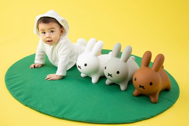 Miffy 米飛兔充氣搖鈴公仔 - 設計館 hellolittleshop - 玩具,簡單快速又方便, 兒童&孕婦用品, 玩具 - Carousell