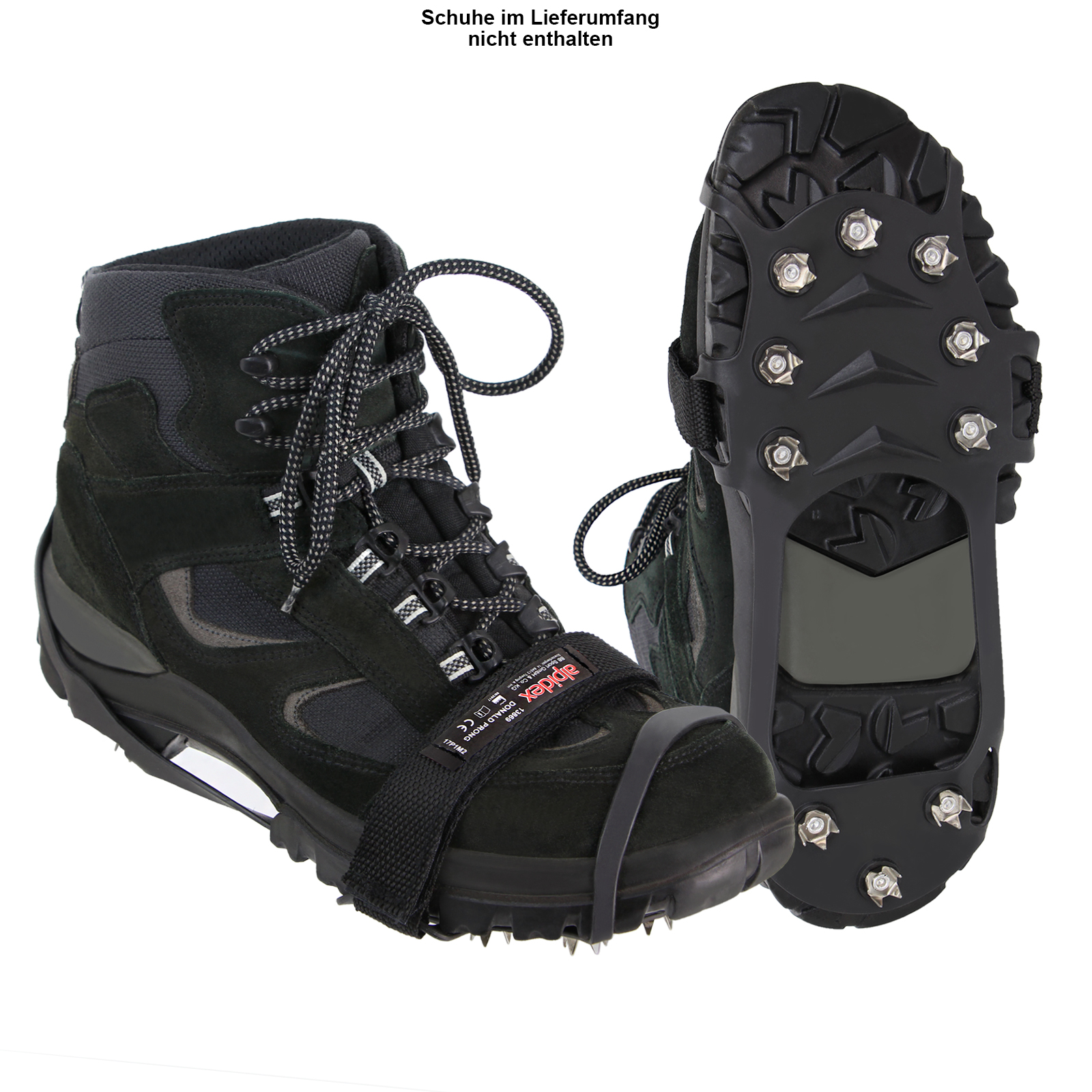 Anti Rutsch Teppich Outdoor Anti Rutsch Schuh Spikes Donald Prong Ice Grips In