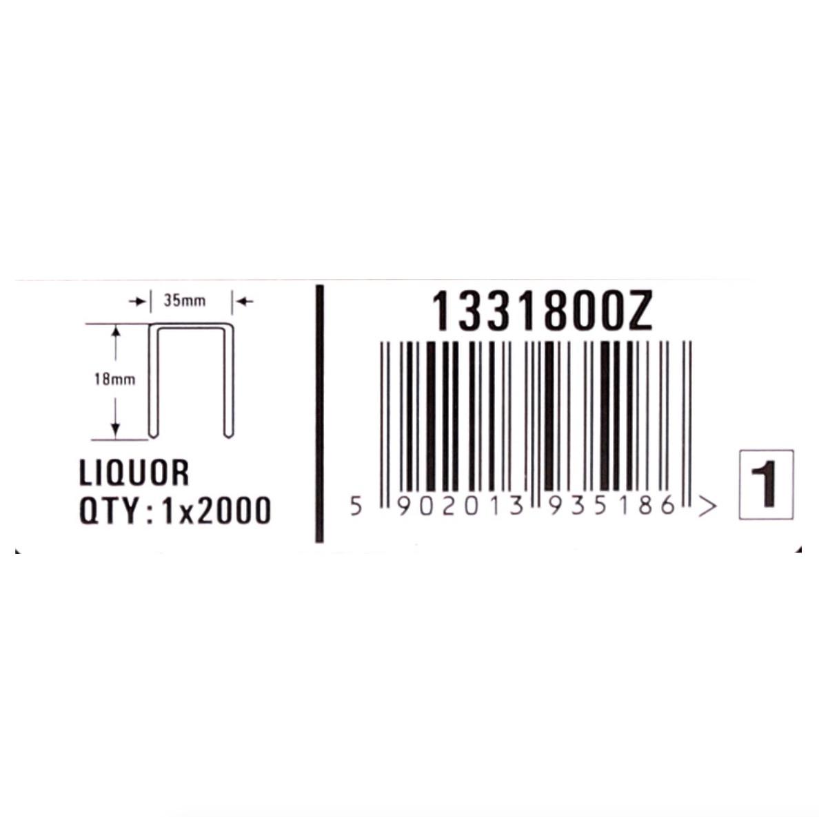 Bostitch Karton Klammern 18 Mm Liquor Stk Fur Dsa