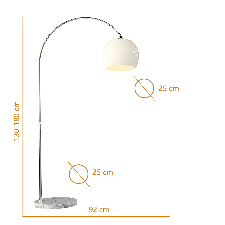 details sur lampadaire a arc salon lampe courbee lampadaire salon lampe sur pied