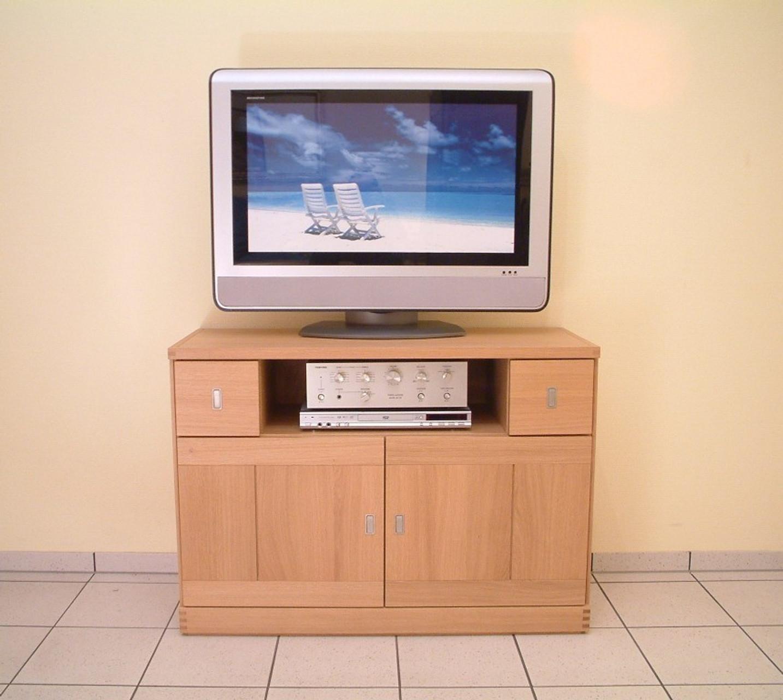 kantatus tv mobel sideboard moderne tv anrichte kommode breite 106 cm type m3cd 106 in eiche vollmassiv auch in buche kernbuche oder