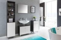 Badezimmer Set Simply, 4 teilig Badezimmer Badezimmersets