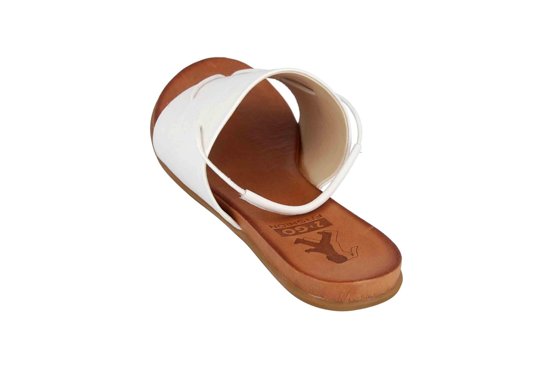 Mustang Shoes Sandalen in bergren Wei 80038011 groe Damenschuhe Damenschuhe in bergren
