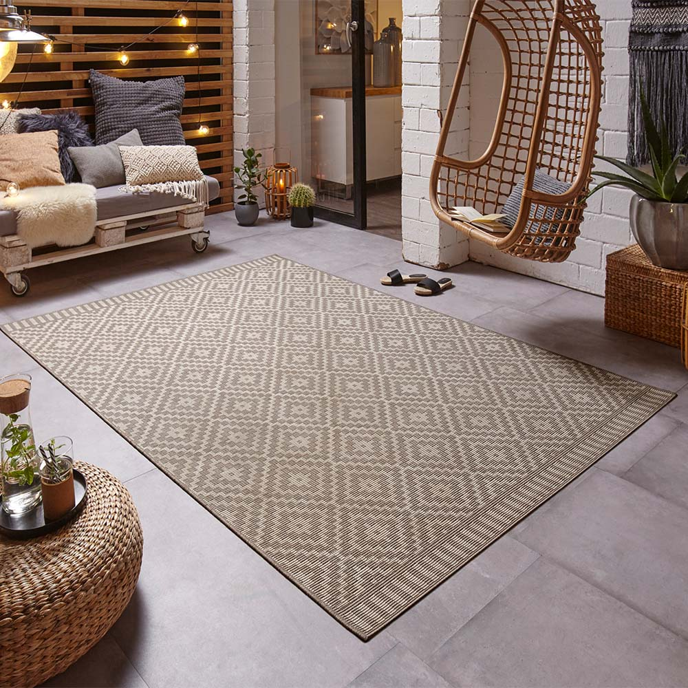 Outdoor Teppiche Design In Outdoor Teppich Breeze Taupe
