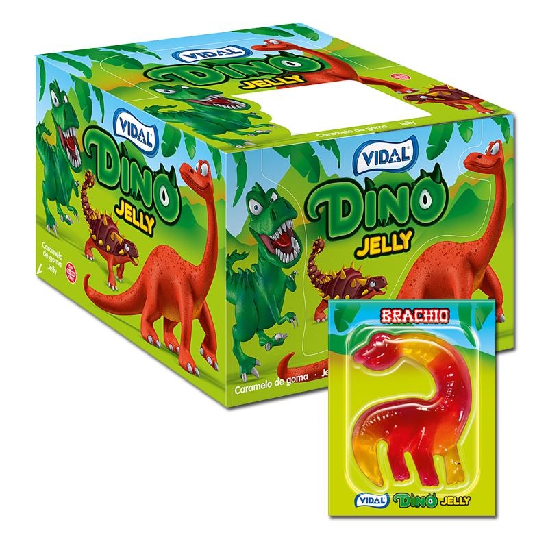 Vidal Dino Jelly FruchtgummiDinosaurier 11 Packungen je