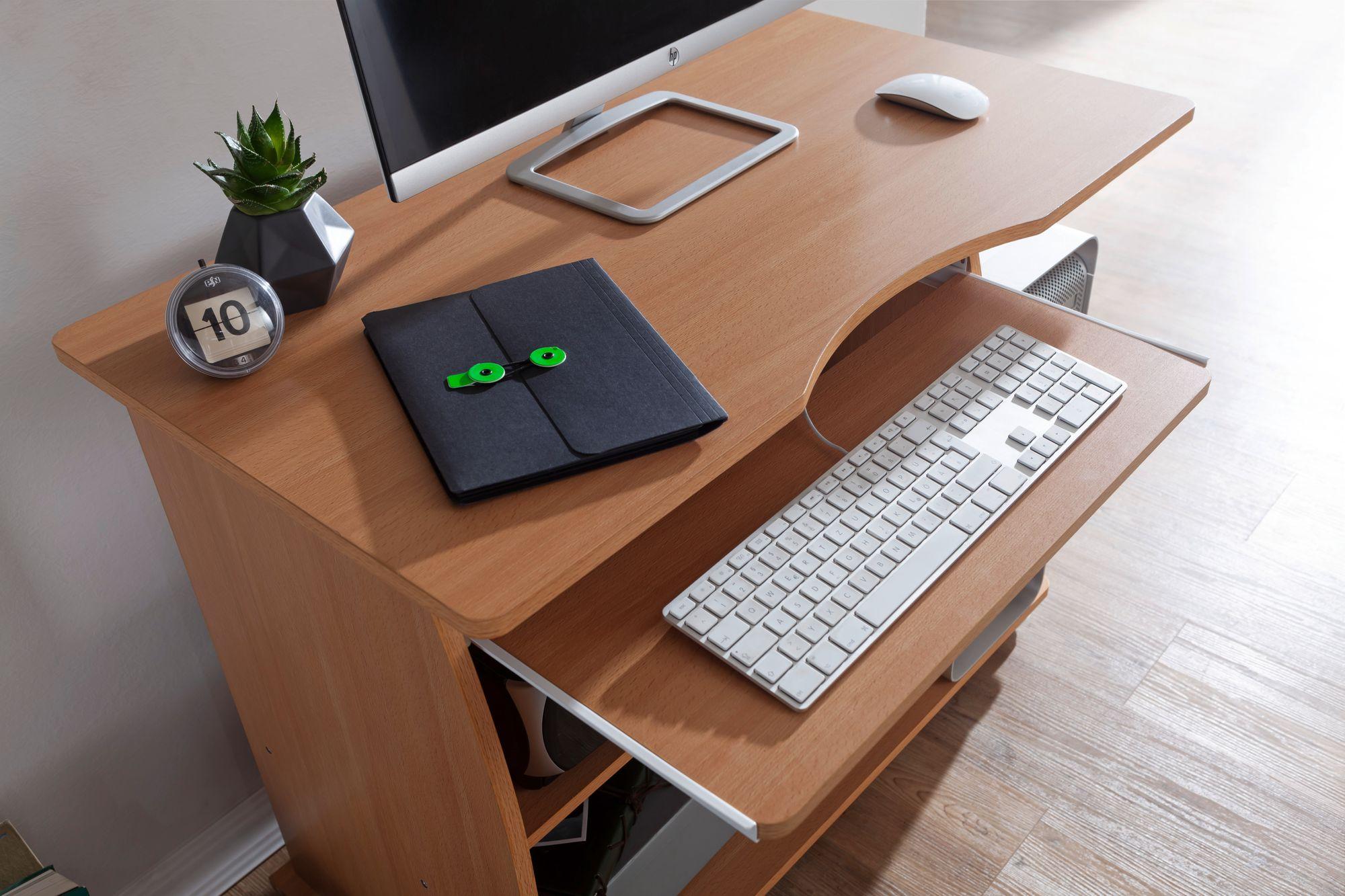 Computertisch Rollbar Computertisch Bemerkenswert Schmal Design