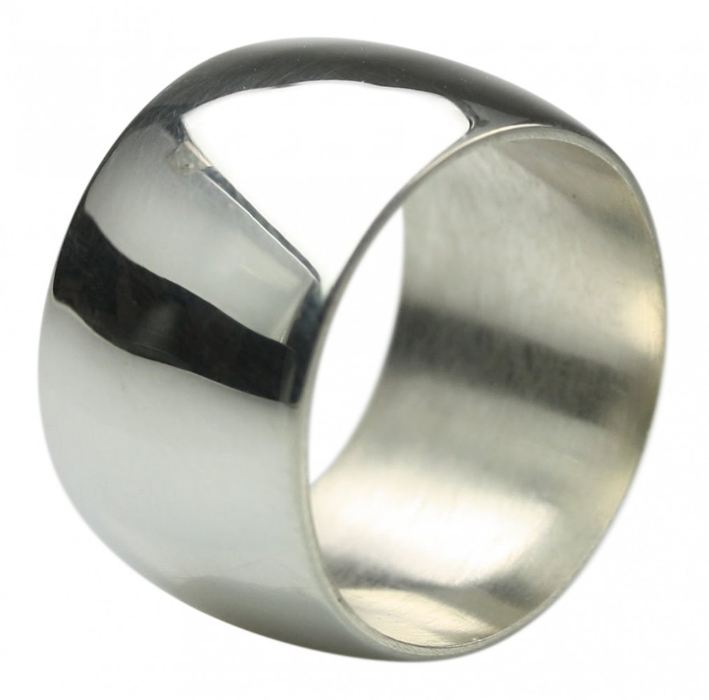 Breiter eleganter 925er Silberring ca 16 Gramm