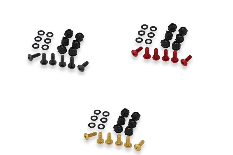 KV435 Schrauben-Set für Verkleidungsscheibe CNC Racing für