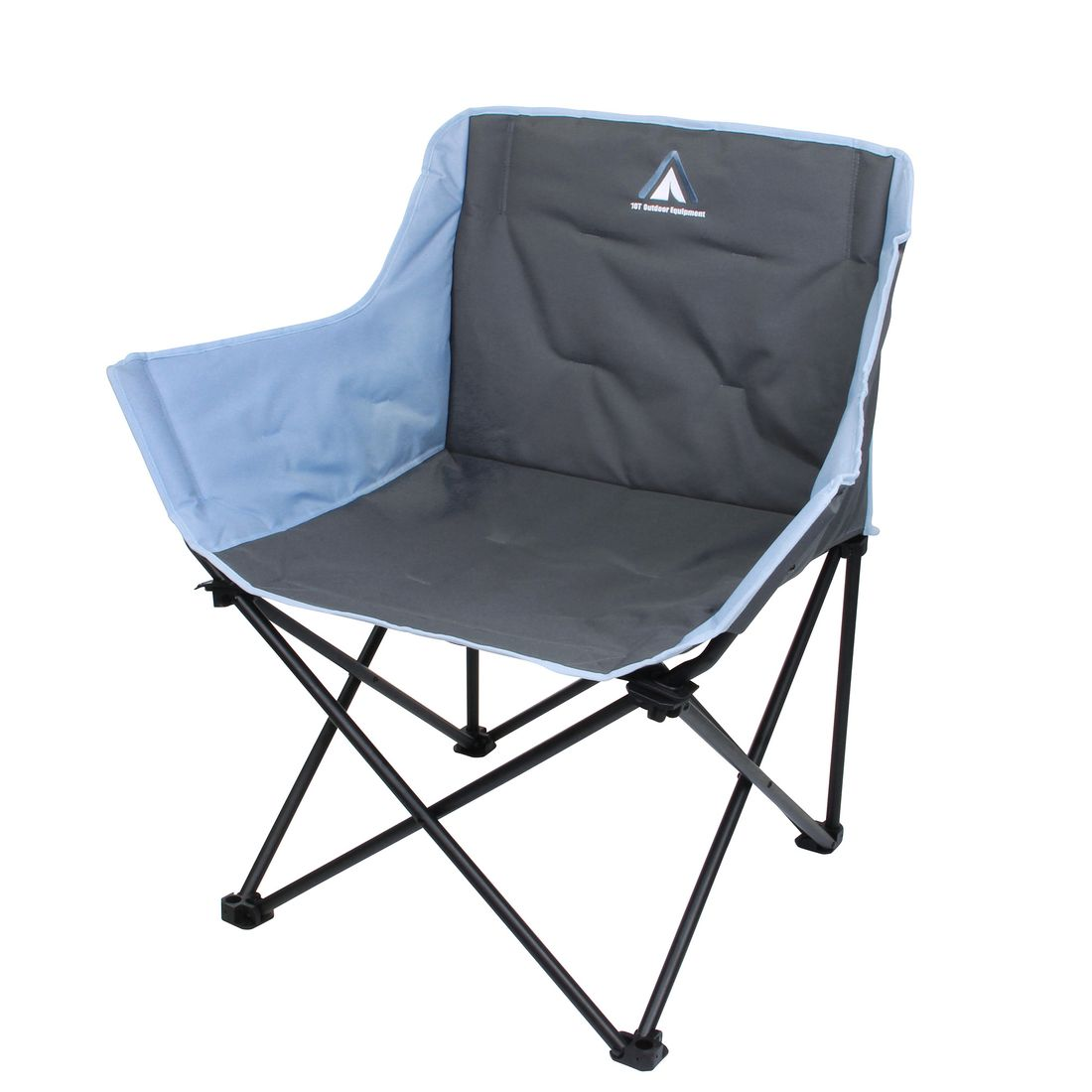 Collapsible Chair 10t Camping Chair Jace Arona Xxl Folding Chair Up To 130 Kg Chair With Cup Holder Side Pocket Outdoor Furniture Chairs Collapsible Chairs