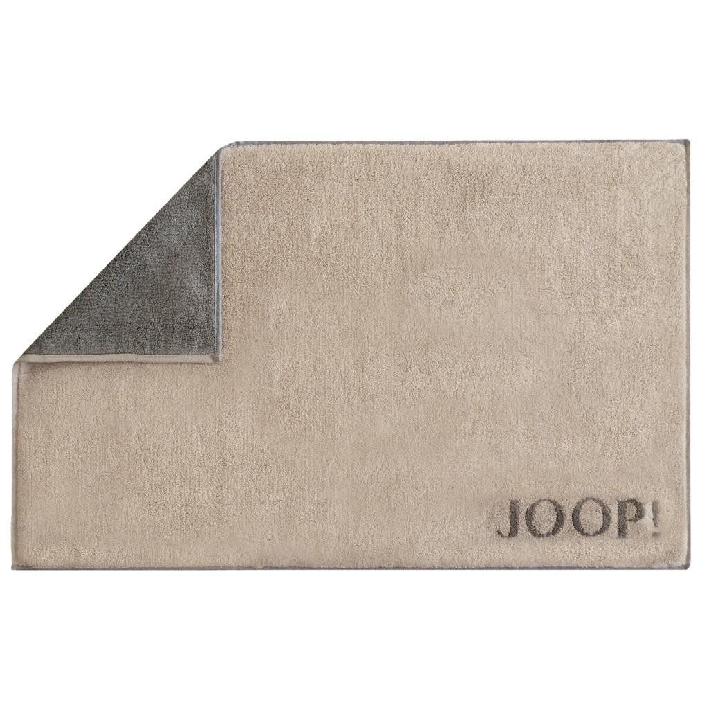 JOOP Badematte Doubleface sand graphit 1600  37
