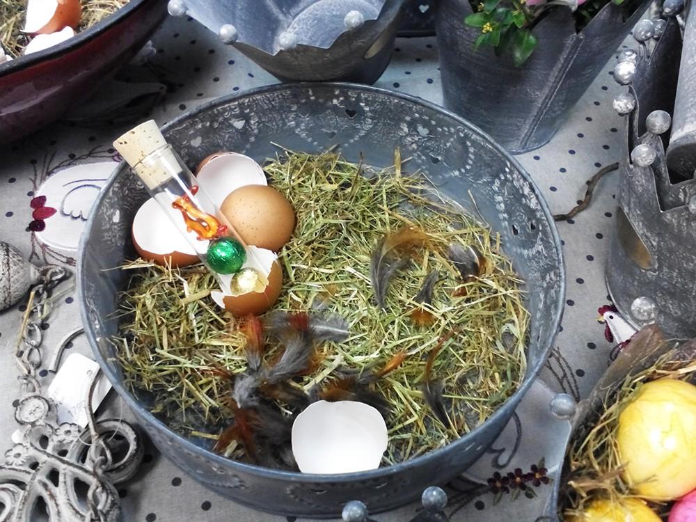 Reagenzglser Bastel Ideen selbstgemachte Reagenzglas