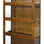 Casa Padrino Luxury Bookcase With 4 Glass Doors And Led