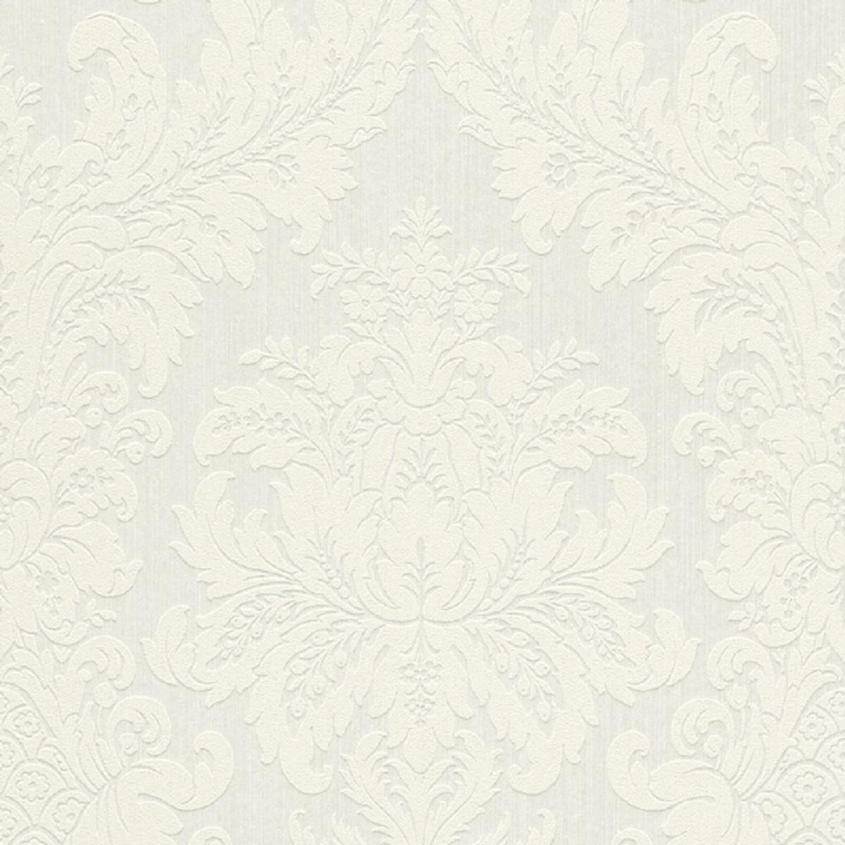 Honeyhouse carta da parati in tessuto non tessuto di lusso 3d, damascato mbossato carta da parati per soggiorno camera da letto pareti 0,53 m* 9,5 m=5,035. Casa Padrino Carta Da Parati Tessile Barocco Bianco 10 05 X 0 53 M Carta Da Parati Di Lusso Per Soggiorno Casa Padrino De