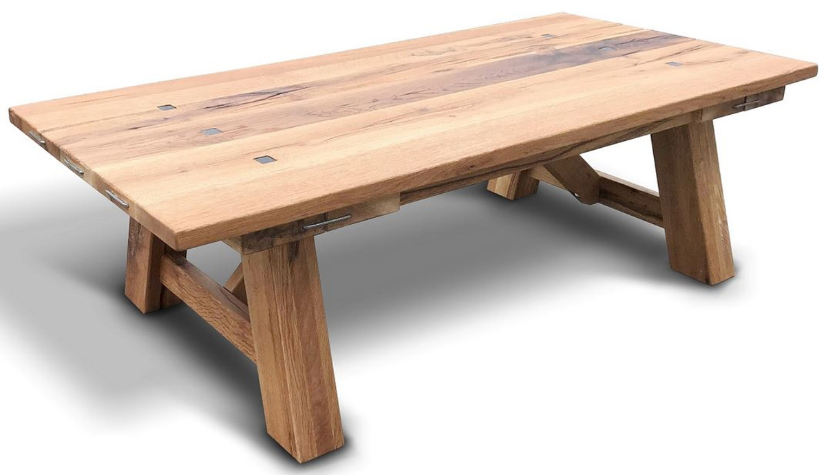 casa padrino solid wood coffee table different colors sizes rustic oak wood living room table living room furniture