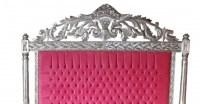 Casa Padrino Luxus Barock Bett Antik Rosa / Silber - Luxus ...