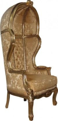 Casa Padrino baroque throne Victory Gold baroque Pattern ...