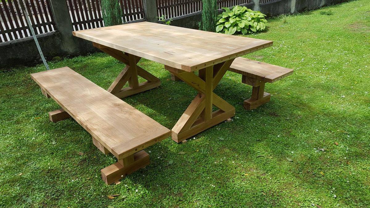 Table De Jardin Bois Casa | Casa Mobilier Jardin Best Of Table Bois ...
