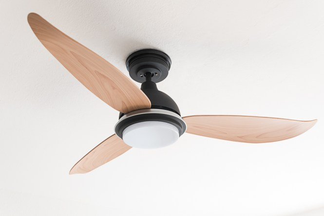 Ceiling Fan With Heater And Light