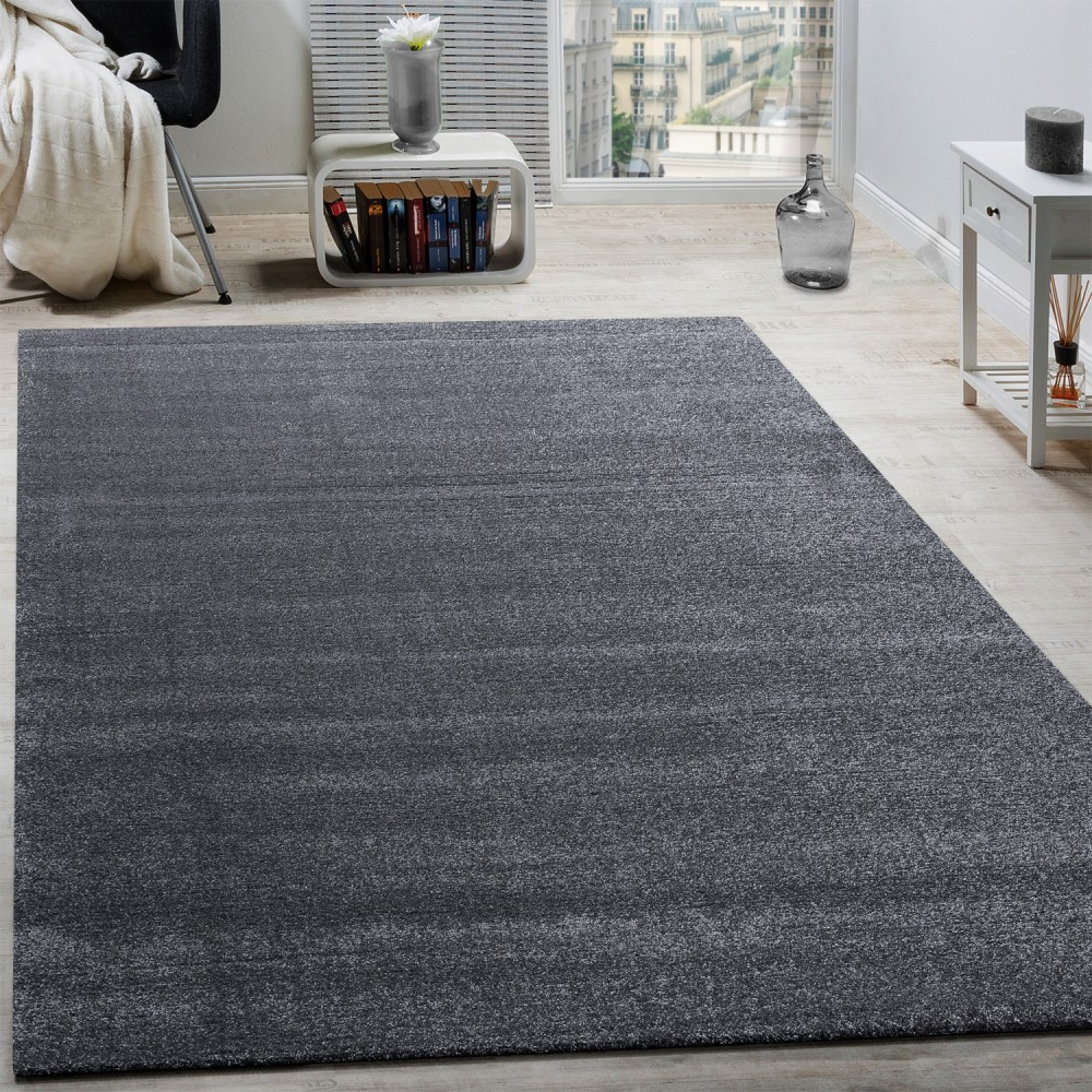 Teppich Shaggy Shine Designer Rug Frieze Charcoal