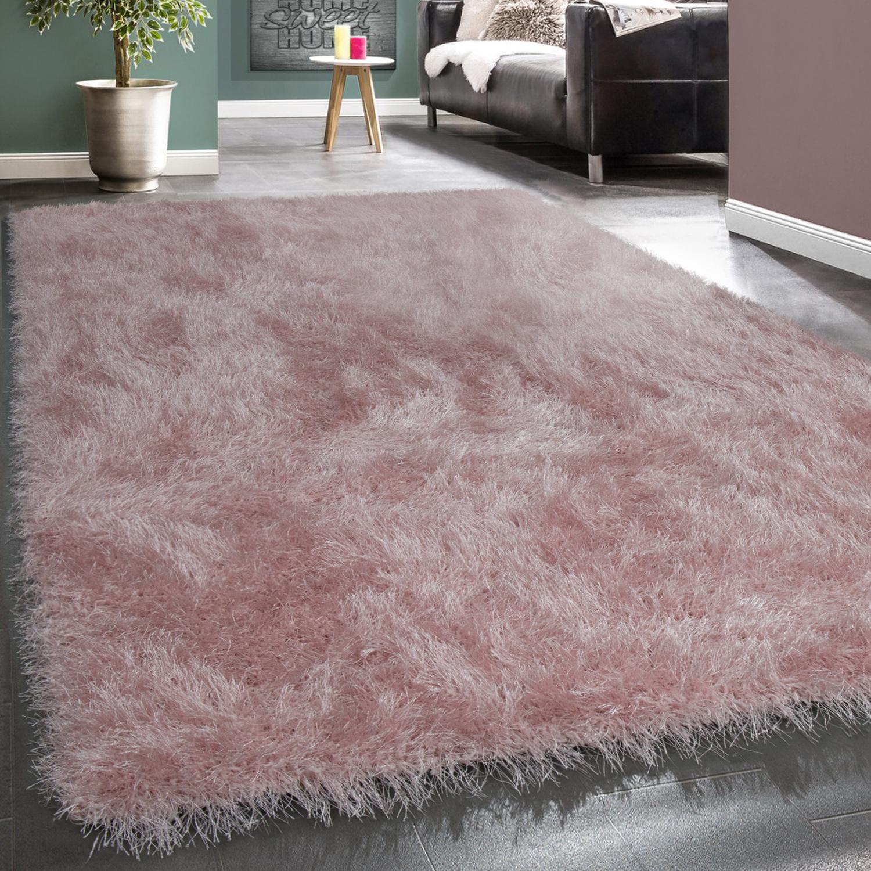 Wohnzimmer Teppich Hochflor