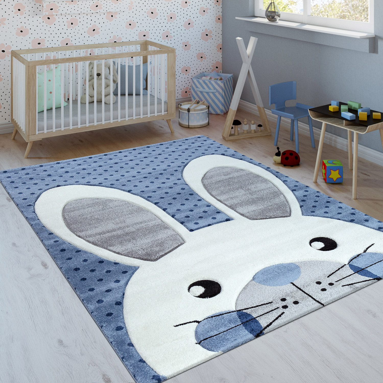 Teppich Kinderzimmer Hase Kinderzimmer Poster Hallo Hase Schwarz